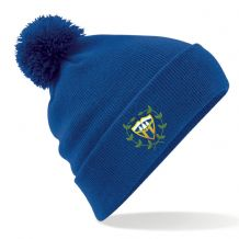 Woodvale Cricket Club Beechfield Original Pom Pom Beanie Bright Royal 2020